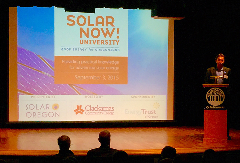 Solar Now! University Conference